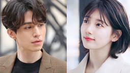 Tentu sja hal ini banyak mengundang pertanyaan berbagai pihak. Banyak yang menduga jika Suzy jatuh cinta dengan Lee Dong Wook saat ia masih berpacaran dengan Lee Min Ho. (Foto: Koreaboo.com)