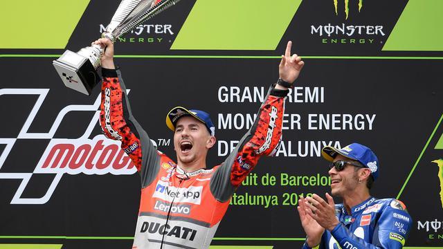 Jorge Lorenzo Juara MotoGP Catalunya 2018