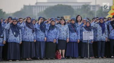 Anies Pimpin Upacara Hari Lahir Pancasila di Monas