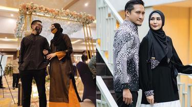 6 Potret Romantis Arie Untung dan Fenita Arie Pakai Baju Couple, Tampil Kompak