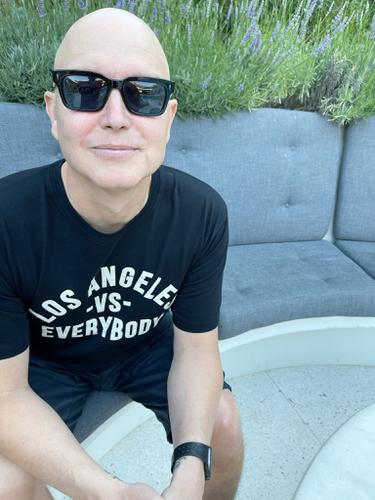 Mark Hoppus Blink 182. (Twitter/ markhoppus)