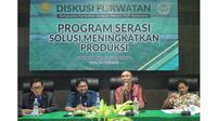 Program Serasi, solusi pangan dan upaya Indonesia menjadi lumbung pangan dunia. (foto: dok. Kementan)