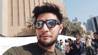7 Momen Seru Ammar Zoni Saat Berlibur di Dubai, Coba Sky Diving (sumber: YouTube Aish TV)