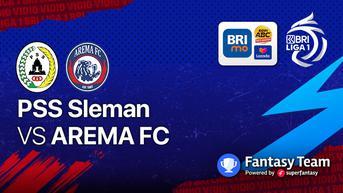 Link Live Streaming BRI Liga 1, PSS Sleman vs Arema FC Minggu, 19 September 20210 Main di Vidio