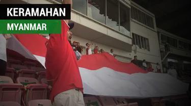 Berita video suporter Indonesia di Piala AFF U-18 2017, Harie Pandiono, yang mengungkapkan apa yang dirasakannya soal keramahan Yangon, Myanmar.
