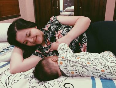 FOTO: Momen Tasya Kamila Bersama Sang Buah Hati, Jadi Ibu Siaga