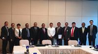 Menko Darmin Nasution dan Menkominfo Rudiantara temui Pendiri Alibaba Group, Jack Ma di Beijing