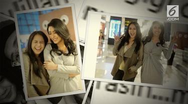 Nagita Slavina memamerkan momen kebersamaan bersama mantan kekasih Raffi Ahmad, Tyas Mirasih.