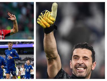 Foto: 6 Pemain Bintang yang Mungkin akan Pensiun di Akhir Musim 2021 / 2022, Termasuk Gianluigi Buffon dan Zlatan Ibrahimovic