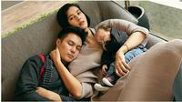 Paula Verhoeven dan Baim Wong (Sumber: Instagram/hann.prawira)