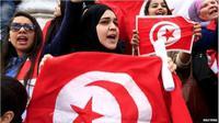 Demo di Tunisia. (Reuters)