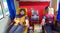 Kejar ketersediaan stok darah, Palang Merah Indonesia (PMI) Kota Tangerang, jemput bola kepada masyarakat yang ingin mendonorkan darahnya.
