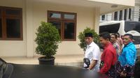 Mantan Menko Polhukam Wiranto, Jumat (13/12/2019). (Liputan6.com/ Putu Merta Surya Putra)