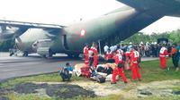 PMI tak tinggal diam. Mereka pun turun tangan dalam membantu evakuasi korban Air Asia QZ 8501