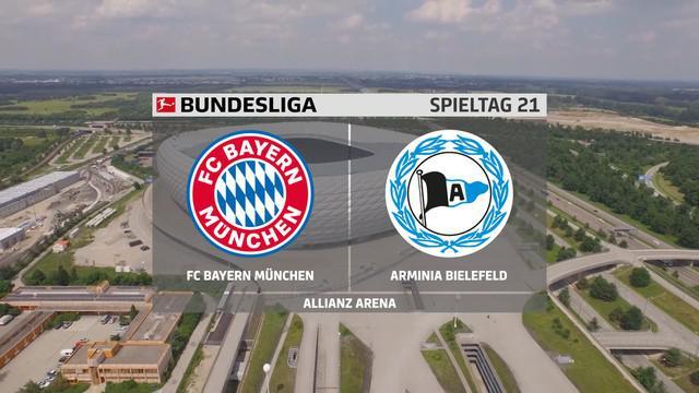 Berita video gol-gol yang tercipta pada laga seru Bundesliga 2020/2021 pekan ke-21 antara Bayern Munchen melawan Arminia Bielefeld, Selasa (16/2/2021) dinihari WIB.