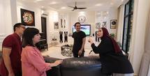 Rumah Arie Untung dan Fenita Arie (Youtube/Keluarga ITIKK)
