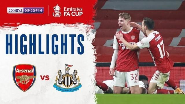 Berita Video, Arsenal menang sengit atas Newacastle United