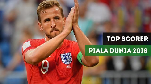 Berita video 4 top scorer semifinalis Piala Dunia Rusia 2018