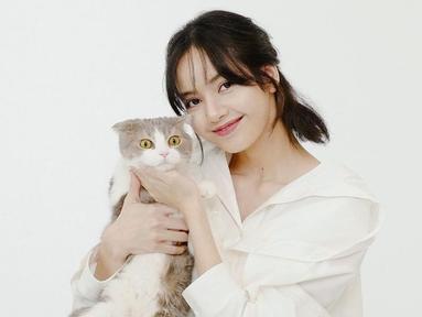 Lalisa Manoban atau Lisa Blackpink memang dikenal sebagai pecinta kucing. Bahkan, saat ini dirinya telah memiliki 5 ekor kucing yang dipelihara di kediamannya. (Liputan6.com/IG/@lalalalisa_m)