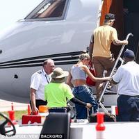 Justin Bieber dan Hailey Baldwin liburan ke Miami. (Daily Mail)