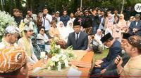 Pernikahan Syahnaz Sadiqah dan Jeje Govinda (Youtube)