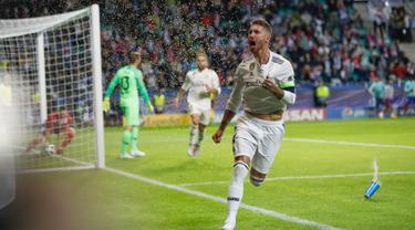 Atletico Madrid Raih Juara Piala Super Eropa
