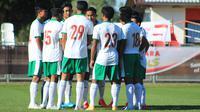 Timnas Indonesia U-19 kalah 0-3 dari Bulgaria pada laga International U-19 Friendly Tournament 2020 di Kroasia. (foto: PSSI)