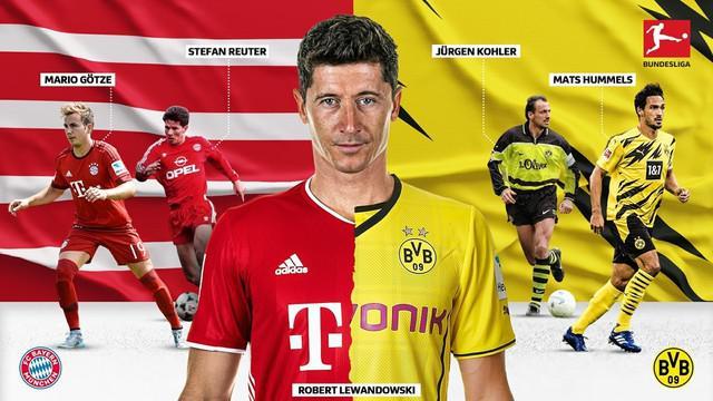 Berita Video Menjelang Der Klassiker, Berikut Deretan Pemain yang Pernah Berseragam Bayern Munchen dan Borussia Dortmund