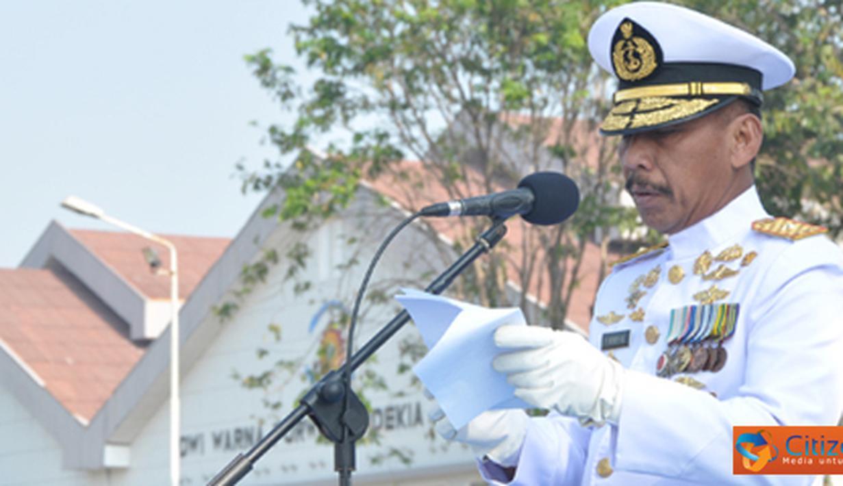 Citizen6, Surabaya: Upacara prtingatan Proklamasi tersebut, didalamnya juga dibacakan teks Proklamasi Indonesia oleh Wadan sebagai Irup. Upacara kali ini, dipimpin Komandan Upacara (Dan Up) Mayor Laut (E) Bernadus Wibowo Jati. (Pengirim: Penkobangdikal)