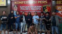 Setelah setahun buron, kodok beringas di Kota Palopo akhirnya tertangkap Polisi (Liputan6.com/ Eka Hakim)