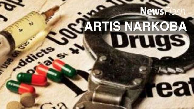 Saat menangkap RS Polisi menyita ganja seberat 10,75 gram, 17 butir atau tablet narkoba jenis dumolid seberat 7,47 gram, 26 butir happy five seberat 7,21 gram, dan empat bungkus kokain yang sudah habis dikonsumsi.