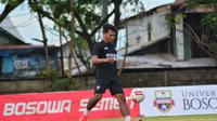 Ilham Udin Armayn sudah berlatih bersama PSM. (Abdi Satria/Bola.com)