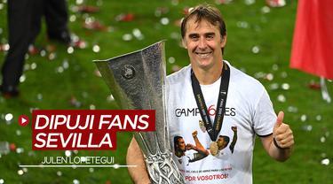 Julen Lopetegui Bawa Sevilla Juara