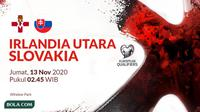 Kualifikasi Piala Eropa 2020 - Irlandia Utara Vs Slovakia (Bola.com/Adreanus Titus)