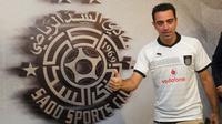 Gelandang Al-Sadd yang juga mantan pemain Barcelona, Xavi Hernandez. (AFP/STR)