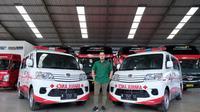 Gilang Widya Pramana menyumbang Ambulance