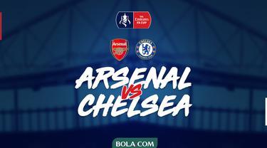 Piala FA - Arsenal Vs Chelsea