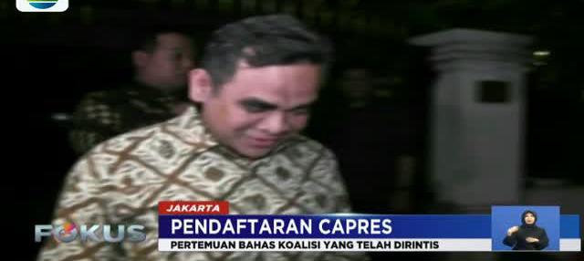 Pendaftaran capres cawapres pada Pilpres 2019 berakhir besok. Pagi tadi, usai heboh 'jenderal kardus', Prabowo Subianto temui SBY.