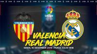 La Liga - Valencia Vs Real Madrid (Bola.com/Adreanus Titus)