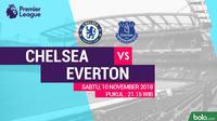 Premier League 2018-2019 Chelsea vs Everton (Bola.com/Adreanus Titus)