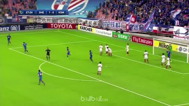 Leandro mencetak gol penyama lewat tembakan voli indah yang memastikan Kashima Antlers comeback usai tertinggal dua gol dan memast...