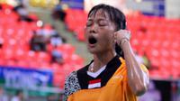 Kejutan tunggal putri Indonesia, Fitriani, di Vietnam Terbuka 2015 berlanjut.
