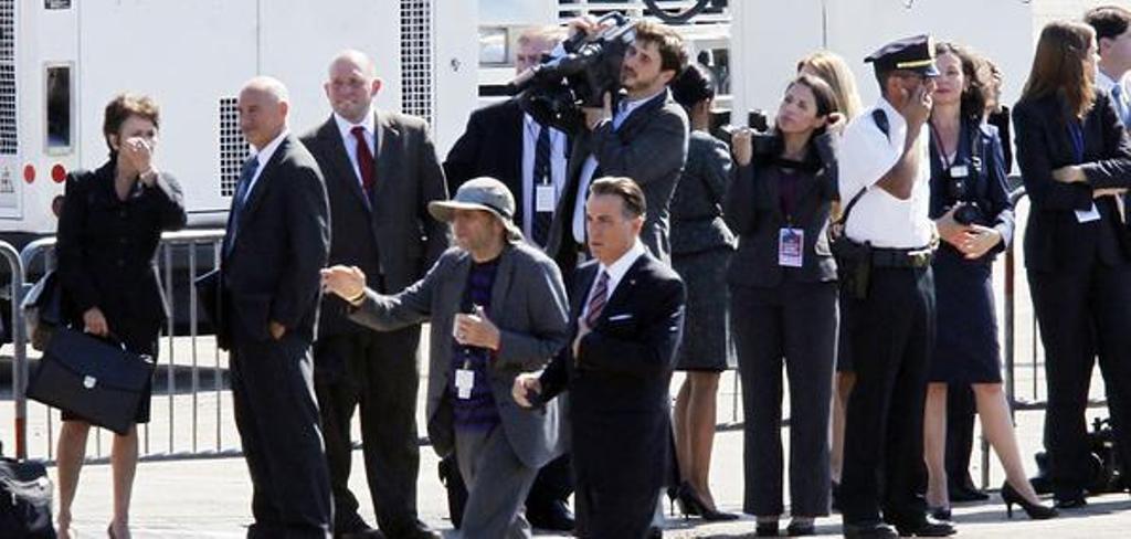 Andy Garcia di film Geostorm. foto: twitter