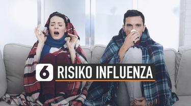 Data WHO menunjukkan 290 ribu-650 ribu orang meninggal karena influenza. Risiko penyebaran virus terjadi saat orang-orang melakukan perjalanan.