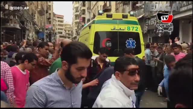 Minggu (09/04/17), sebuah gereja di Alexandria, Mesir meledak.