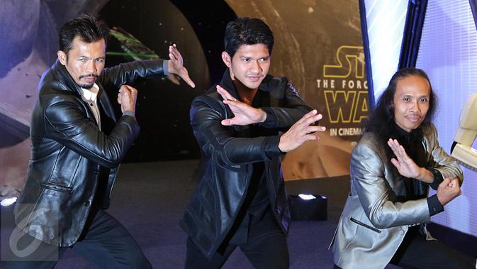 Seperti Apa Aksi Iko Uwais Dkk Di Star Wars The Force Awakens Showbiz Liputan6 Com