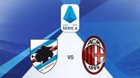 Serie A - Sampdoria Vs AC Milan (Bola.com/Adreanus Titus)