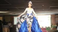 Mini fashion show menandai diluncurkannya Jogja Fashion Week (JFW) 2020. (Liputan6.com/ Switzy Sabandar)