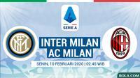 Serie A - Inter Milan Vs AC Milan (Bola.com/Adreanus Titus)