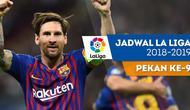 Berita video jadwal La Liga 2018-2019 pekan ke-9. Barcelona ditantang Sevilla, Minggu (21/10/2018) di Camp Nou, Barcelona.